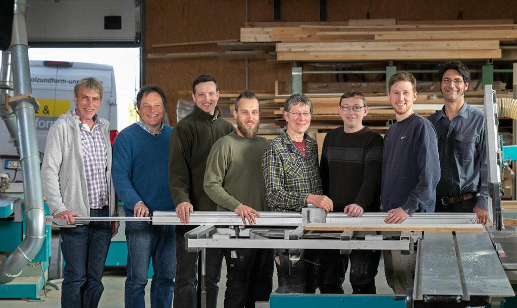 Unser Team - Tischlerei und Holzbau in Schleswig-Flensburg