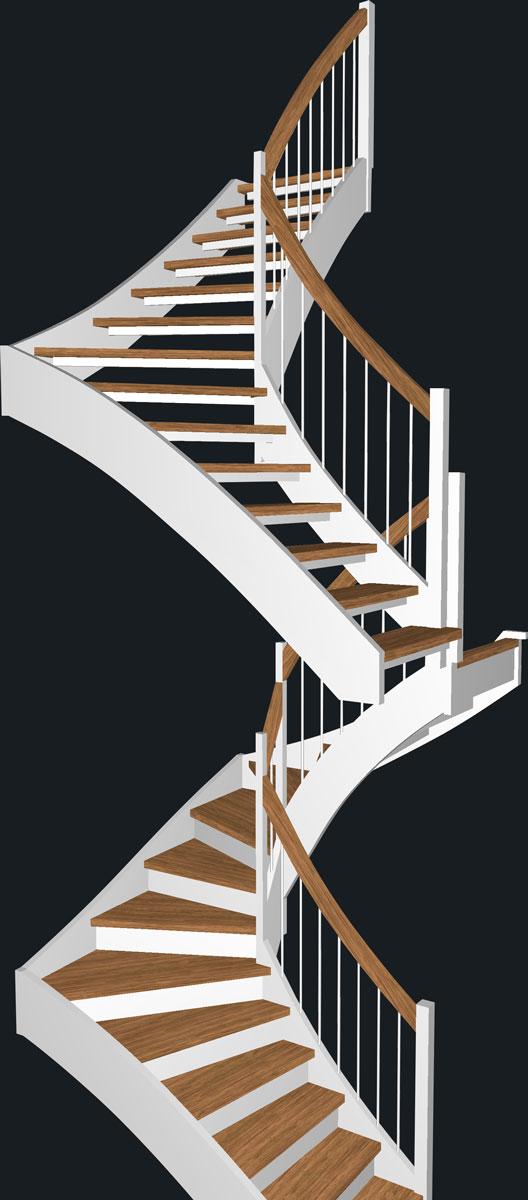 Holztreppe Tischler Holz und Form